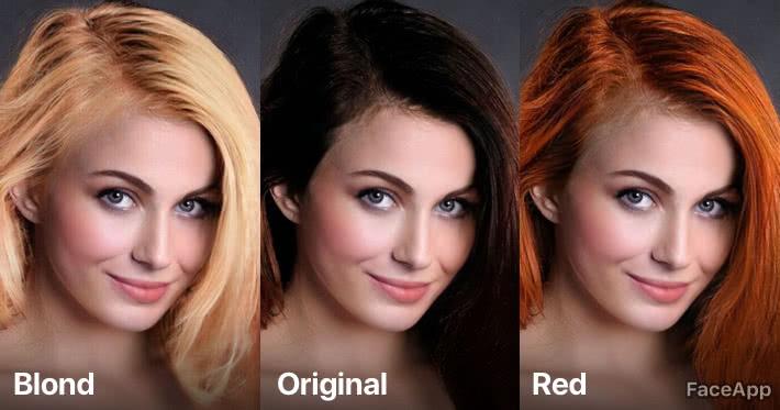 Faceapp How Would Ai Color My Hair